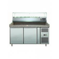 Холодильник-рабочий стол для пиццы GASTRORAG PZ 2600 TN/VRX 1500/380