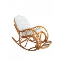 Кресло-качалка MAX POINT DESIGN MPD-MARGONDA HONEY/COTTON VW
